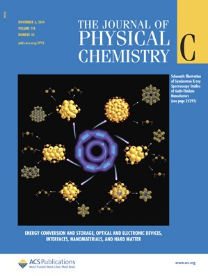 Journal of Physical Chemistry C: Volume 118, Issue 44