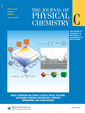 Journal of Physical Chemistry C: Volume 122, Issue 33