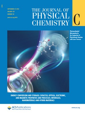 Journal of Physical Chemistry C: Volume 122, Issue 38