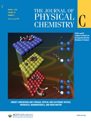 Journal of Physical Chemistry C: Volume 122, Issue 8