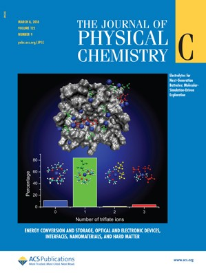 Journal of Physical Chemistry C: Volume 122, Issue 9