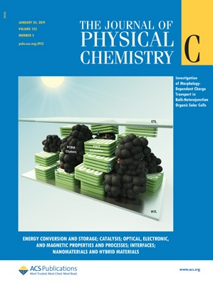 Journal of Physical Chemistry C: Volume 123, Issue 3
