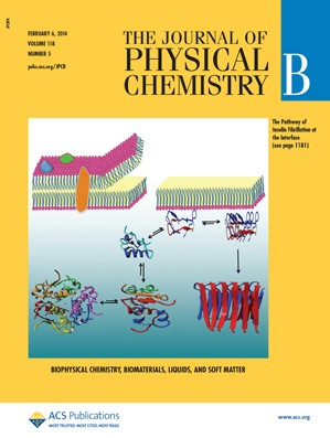 The Journal of Physical Chemistry B: Volume 118, Issue 5