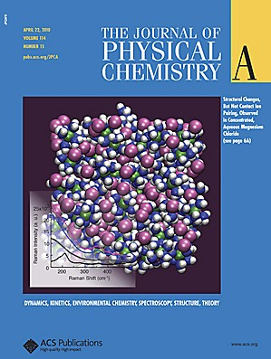 The Journal of Physical Chemistry A: Volume 114, Issue 15