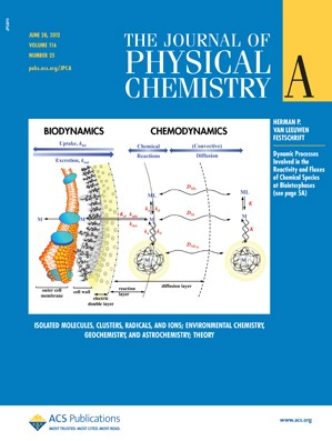 The Journal of Physical Chemistry A: Volume 116, Issue 25