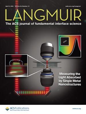 Langmuir: Volume 34, Issue 13