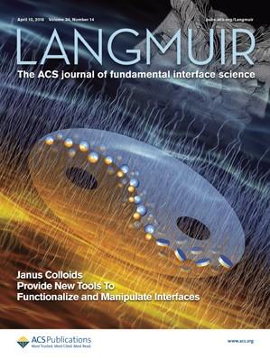 Langmuir: Volume 34, Issue 14