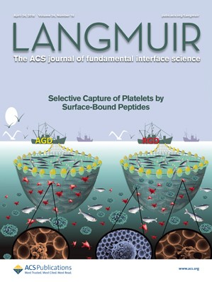Langmuir: Volume 34, Issue 16