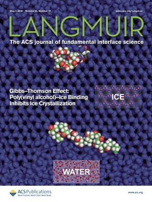 Langmuir: Volume 34, Issue 17