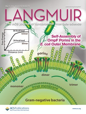 Langmuir: Volume 34, Issue 19