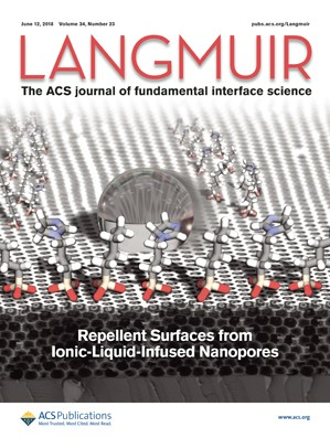 Langmuir: Volume 34, Issue 23