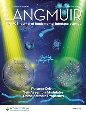 Langmuir: Volume 34, Issue 26