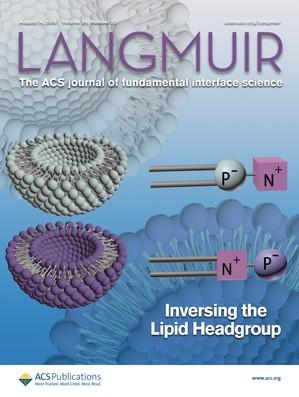 Langmuir: Volume 34, Issue 32