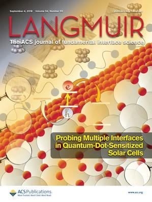 Langmuir: Volume 34, Issue 35