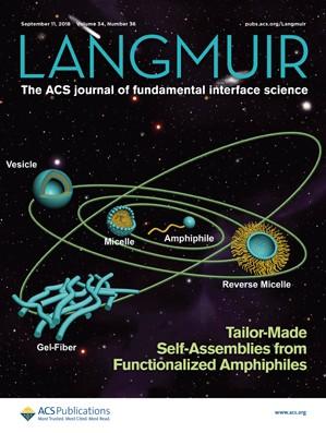 Langmuir: Volume 34, Issue 36