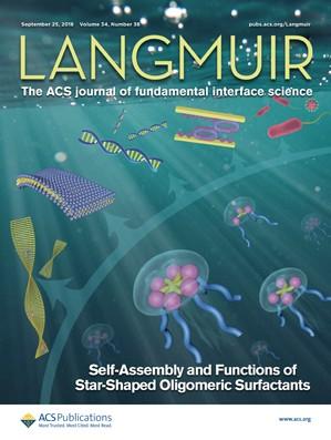 Langmuir: Volume 34, Issue 38