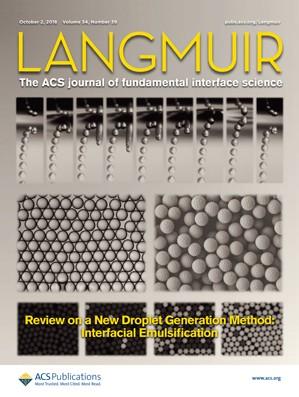 Langmuir: Volume 34, Issue 39