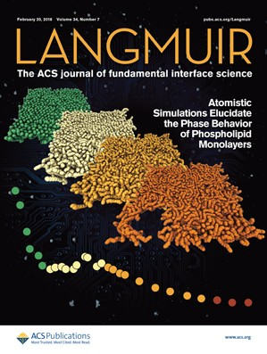 Langmuir: Volume 34, Issue 7