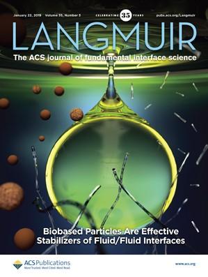 Langmuir: Volume 35, Issue 3