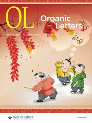 Organic Letters: Volume 21, Issue 1