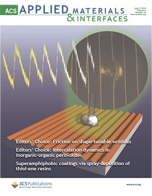 ACS Applied Materials & Interfaces: Volume 6, Issue 13