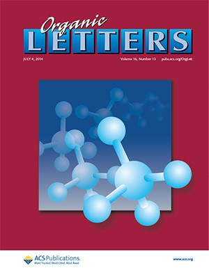 Organic Letters: Volume 16, Issue 13