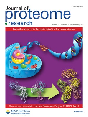 Journal of Proteome Research: Volume 13, Issue 1
