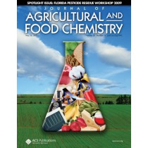 Journal of Agricultural and Food Chemistry: Volume 58, Issue 10