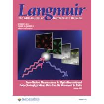 Langmuir: Volume 30, Issue 39